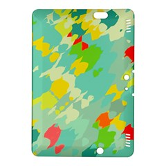 Smudged shapes Kindle Fire HDX 8.9  Hardshell Case by LalyLauraFLM