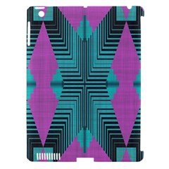 Tribal Purple Rhombus Apple Ipad 3/4 Hardshell Case (compatible With Smart Cover) by LalyLauraFLM