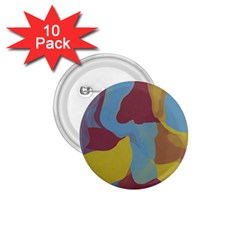 Watercolors 1 75  Button (10 Pack)  by LalyLauraFLM