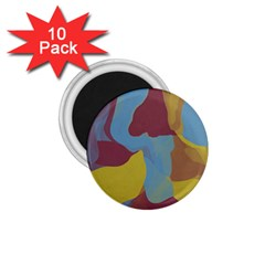 Watercolors 1 75  Magnet (10 Pack)  by LalyLauraFLM