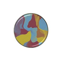 Watercolors Hat Clip Ball Marker by LalyLauraFLM