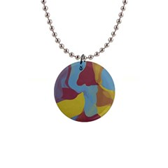 Watercolors 1  Button Necklace by LalyLauraFLM