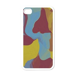 Watercolors Apple Iphone 4 Case (white) by LalyLauraFLM