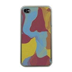 Watercolors Apple Iphone 4 Case (clear) by LalyLauraFLM
