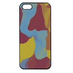 Watercolors Apple Iphone 5 Seamless Case (black) by LalyLauraFLM