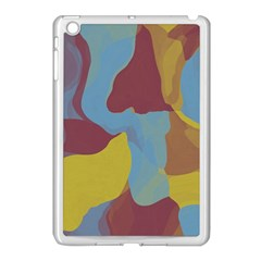 Watercolors Apple Ipad Mini Case (white) by LalyLauraFLM