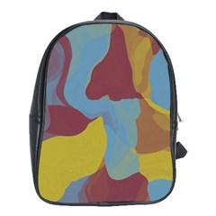 Watercolors School Bag (xl)