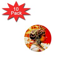 Mata Hari 1  Mini Button (10 Pack)  by icarusismartdesigns
