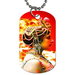 Mata Hari Dog Tag (one Side) by icarusismartdesigns