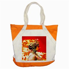 Mata Hari Accent Tote Bag by icarusismartdesigns