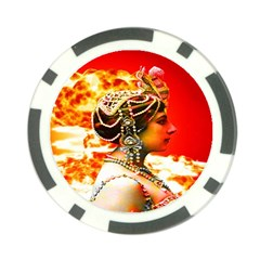 Mata Hari Poker Chip Card Guard (10 Pack) by icarusismartdesigns