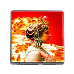 Mata Hari Memory Card Reader With Storage (square) by icarusismartdesigns