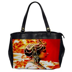 Mata Hari Oversize Office Handbag (one Side) by icarusismartdesigns
