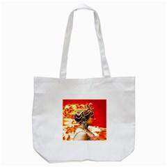 Mata Hari Tote Bag (white) by icarusismartdesigns