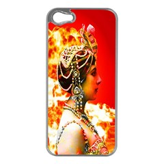 Mata Hari Apple Iphone 5 Case (silver) by icarusismartdesigns