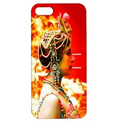 Mata Hari Apple Iphone 5 Hardshell Case With Stand by icarusismartdesigns