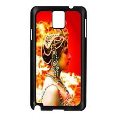 Mata Hari Samsung Galaxy Note 3 N9005 Case (black) by icarusismartdesigns