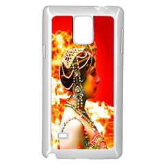 Mata Hari Samsung Galaxy Note 4 Case (white) by icarusismartdesigns