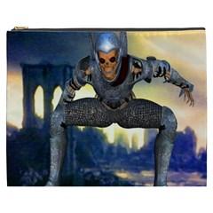 Wasteland Cosmetic Bag (xxxl) by icarusismartdesigns