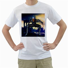 Wasteland Men s T Shirt (white)  by icarusismartdesigns