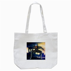 Wasteland Tote Bag (white) by icarusismartdesigns
