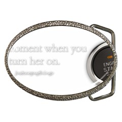 Turn On Belt Buckle (oval) by SilviaS15
