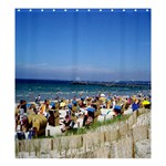 Swimmers Template  Project  sized for 66x72 Large  Shower Curtain - Shower Curtain 66  x 72  (Large)