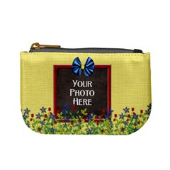 Flowered Coin Bag By Lisa Minor   Mini Coin Purse   P2khwtp5wtcl   Www Artscow Com Front