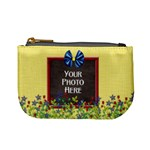 Flowered Coin Bag - Mini Coin Purse