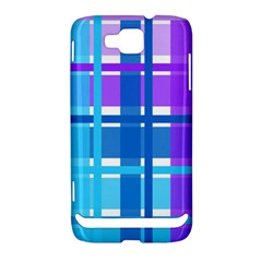 Blue & Purple Gingham Plaid Samsung Ativ S i8750 Hardshell Case by StuffOrSomething