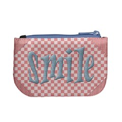 Smile Pip Coin Bag By Lisa Minor Back