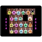 Thanks Fleece - Fleece Blanket (Large)