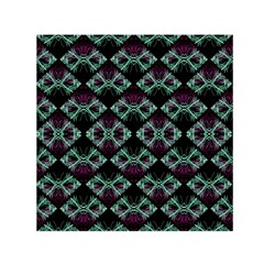 Elegant Pattern Print Small Satin Scarf (square)