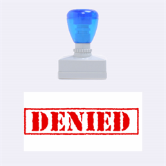 Denied Rubber Stamp by spelrite