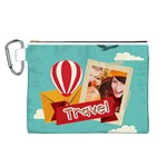 travel - Canvas Cosmetic Bag (Large)