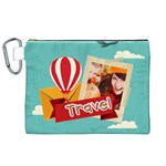 travel - Canvas Cosmetic Bag (XL)