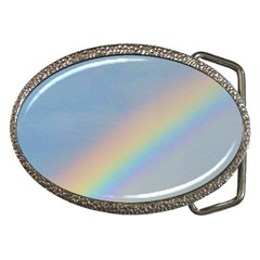 Rainbow Belt Buckle (oval)