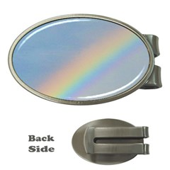 Rainbow Money Clip (oval)