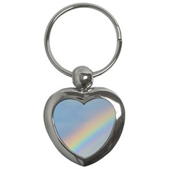 Rainbow Key Chain (heart)