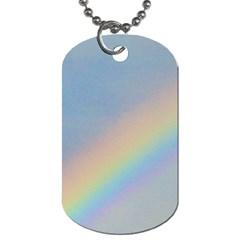 Rainbow Dog Tag (two Sided)