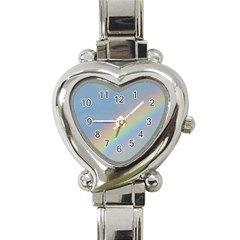 Rainbow Heart Italian Charm Watch