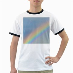 Rainbow Men s Ringer T Shirt