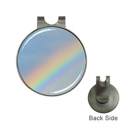 Rainbow Hat Clip With Golf Ball Marker