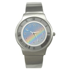 Rainbow Stainless Steel Watch (slim)