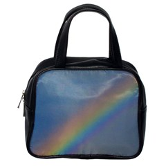 Rainbow Classic Handbag (one Side) by yoursparklingshop