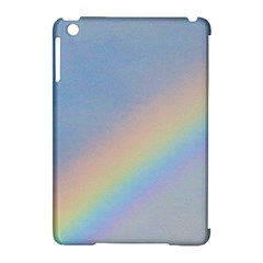 Rainbow Apple Ipad Mini Hardshell Case (compatible With Smart Cover)