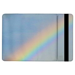 Rainbow Apple Ipad Air Flip Case by yoursparklingshop