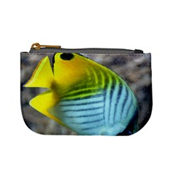 Threadfin Butterflyfish Coin Change Purse by stineshop