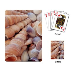 Seashells 3000 4000 Playing Cards Single Design by yoursparklingshop