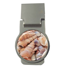 Sea Shells Money Clip (round) by yoursparklingshop